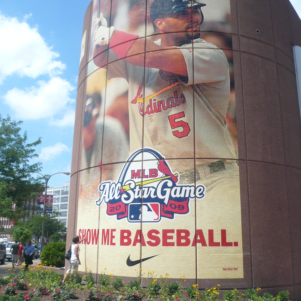 Nike: MLB All Star Game Campaign asg wallscape