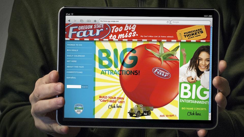 JEFF DOOLEY CREATIVE - Oregon State Fair: Rebranding