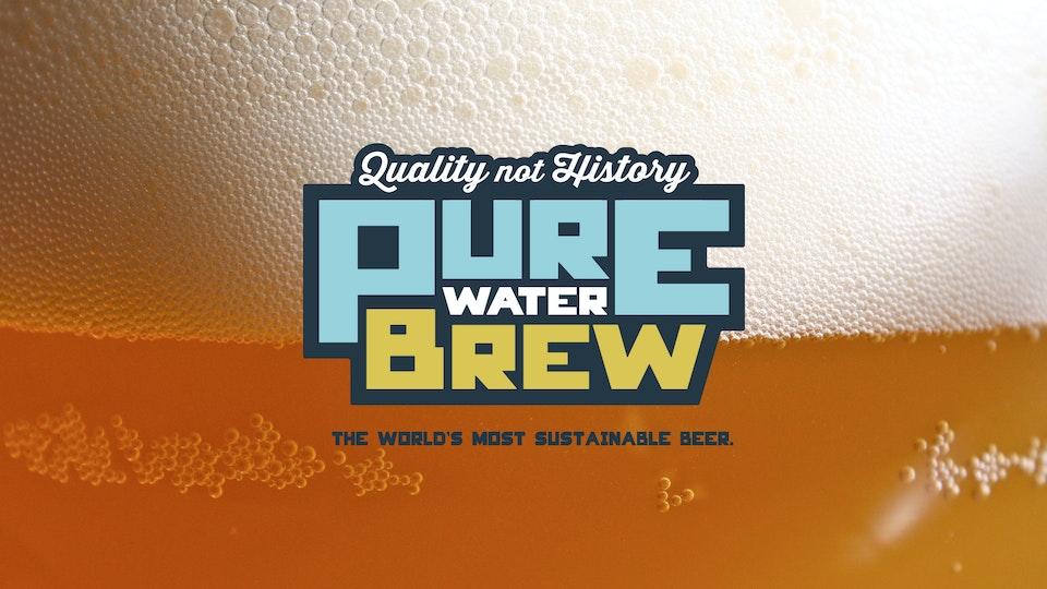 JEFF DOOLEY CREATIVE - Clean Water Services: Pure Water Brew Branding