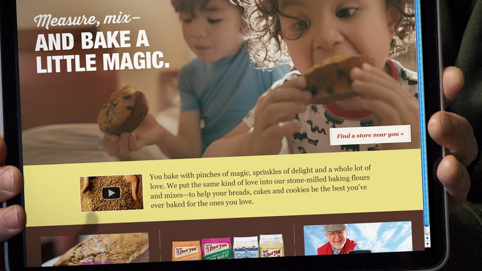 JEFF DOOLEY CREATIVE - Bob's Red Mill: Digital Campaign