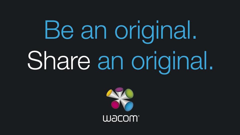 JEFF DOOLEY - Wacom: Share an Original Campaign