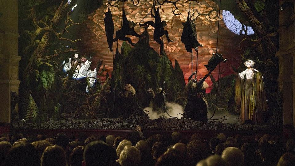 BATMAN BEGINS Batman Begins Opera stage set