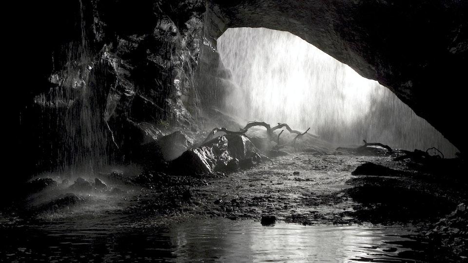 BATMAN BEGINS The Batcave