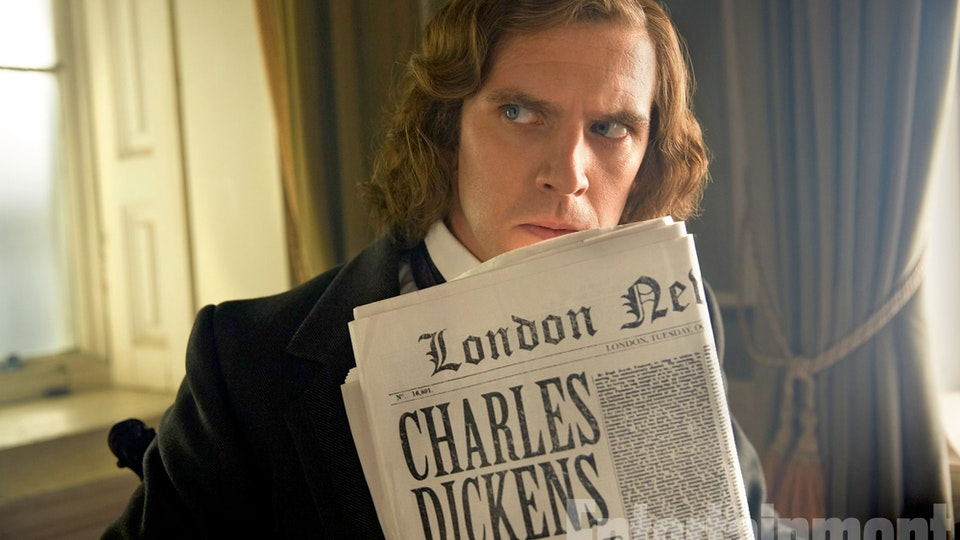 THE MAN WHO INVENTED CHRISTMAS dickens