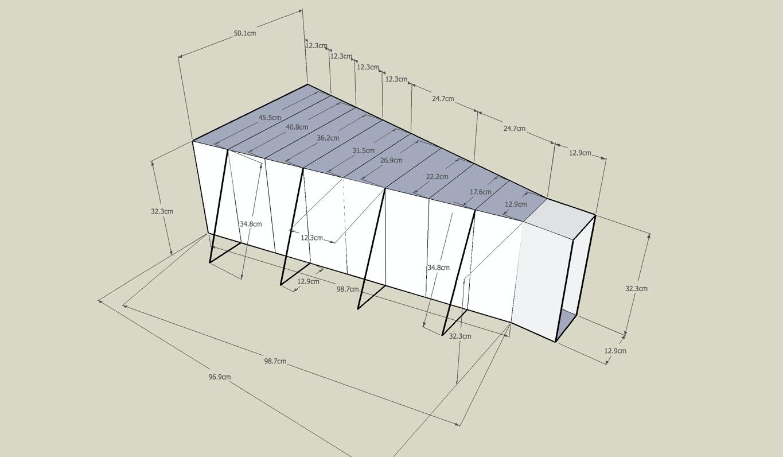 PAKI SMITH - mini room measurements