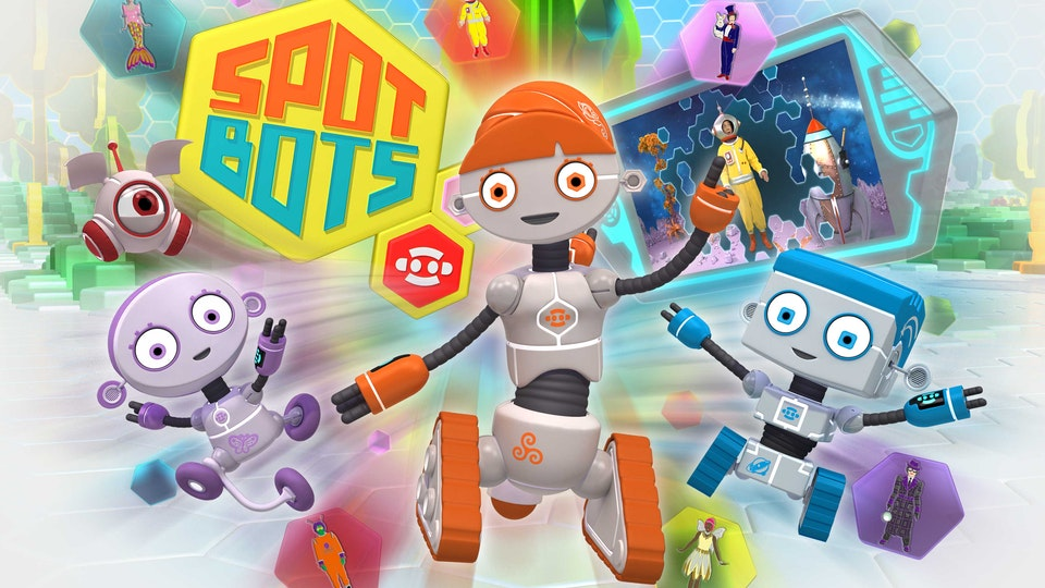 "CBeebies ""Spot Bots"" — Storyboards"