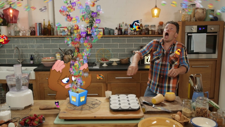 Jamie Oliver meets Moshi Monsters