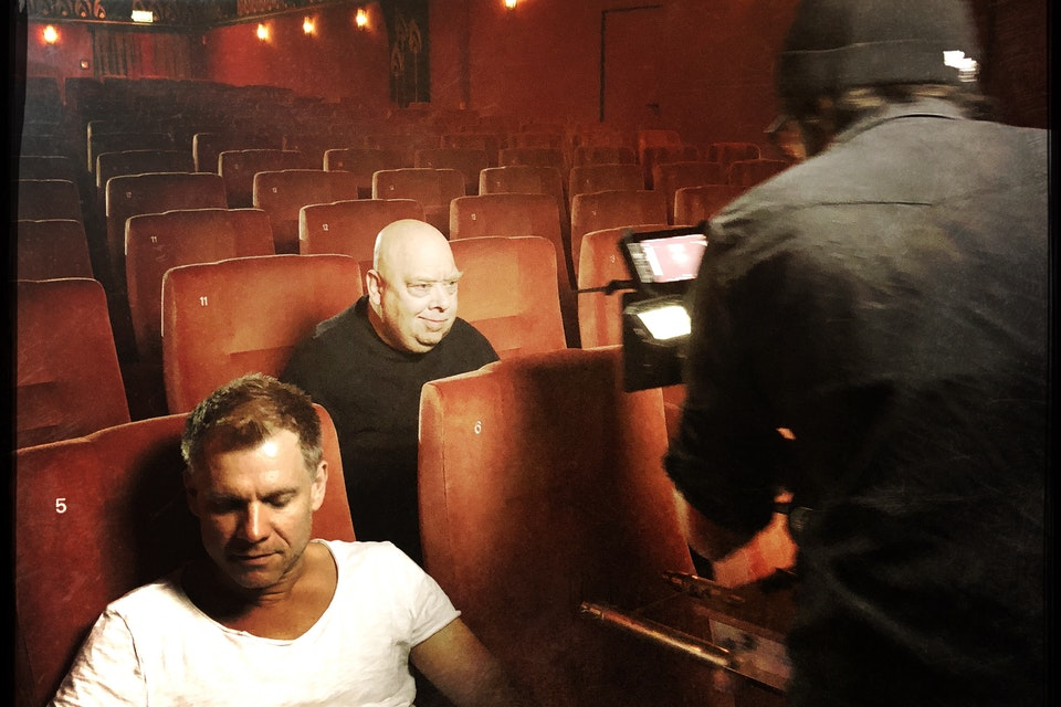 Dreh Hamburger Filmfest Trailer