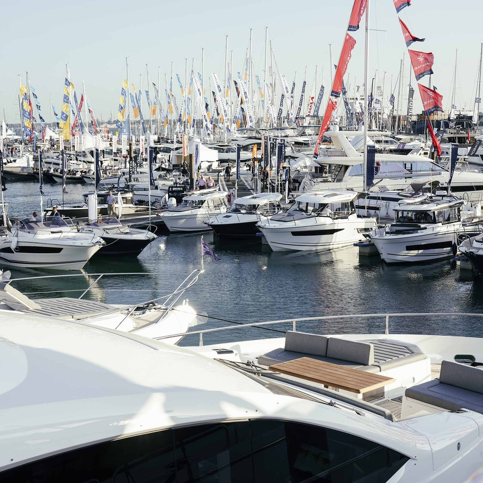 BLACK IS BLACK  CINEMATIC - Boat Show 2019