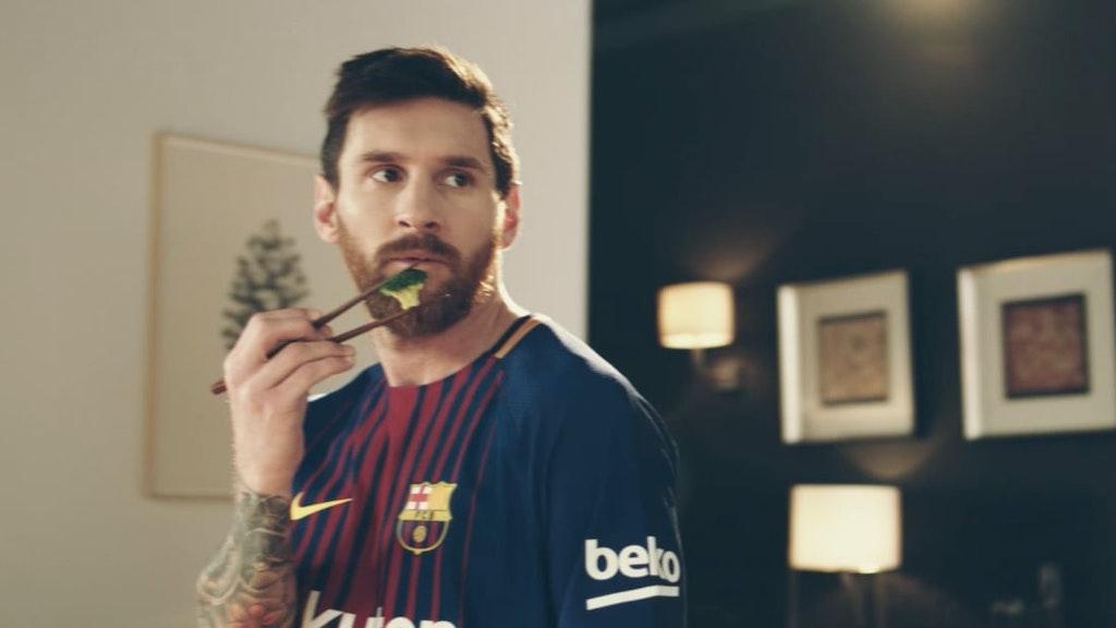 Beko - Eat Like a Pro // Messi & FC Barcelona
