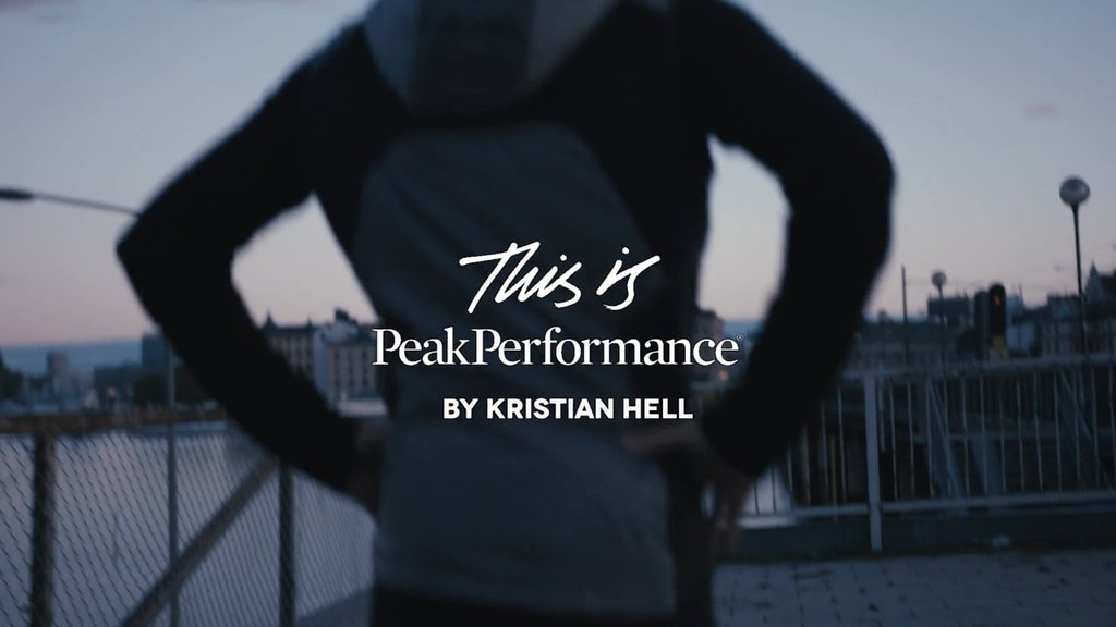 Peak Performance x Kristian Hell