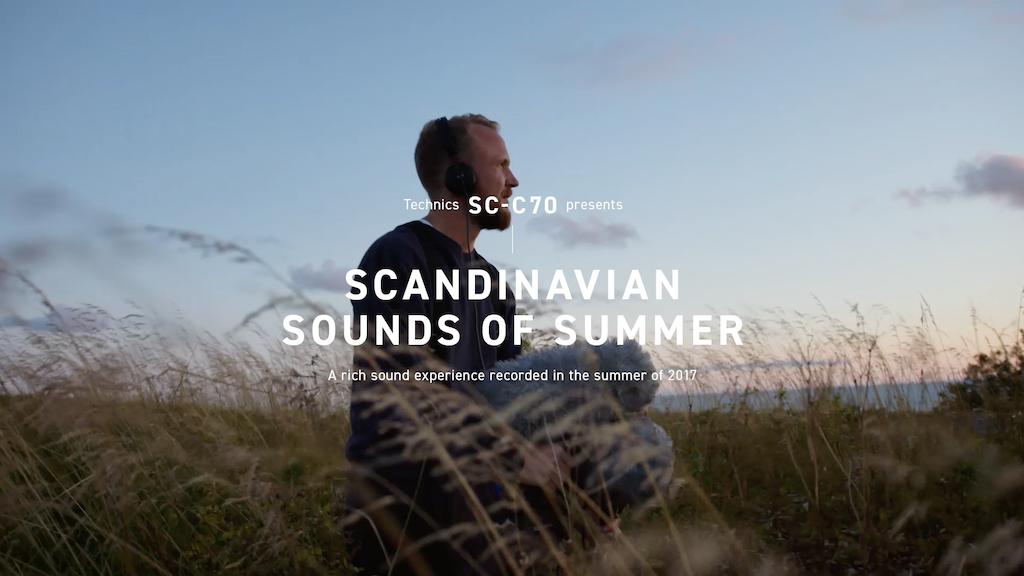 Technics Sounds of Scandinavia Campaign