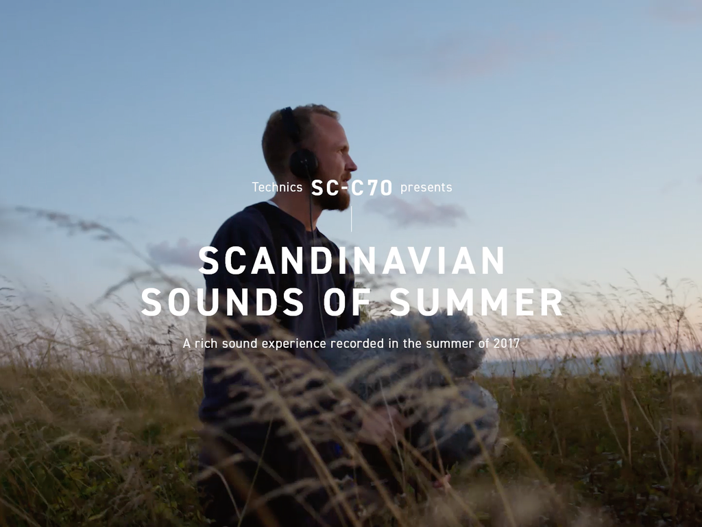 Technics Sounds of Scandinavia Campaign