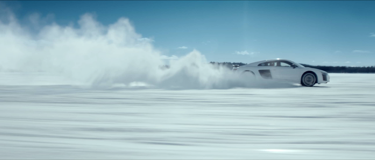 Audi 'Snow Mobile'