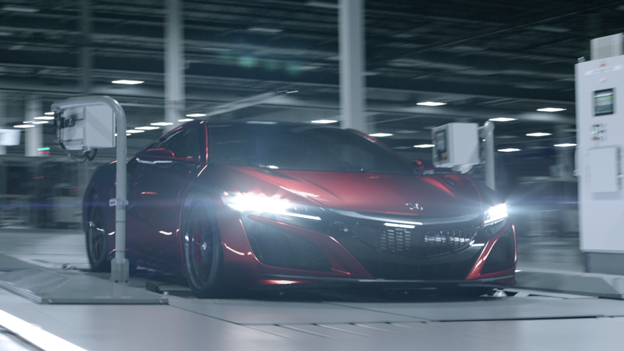 Honda NSX 'Original Must Be Done'