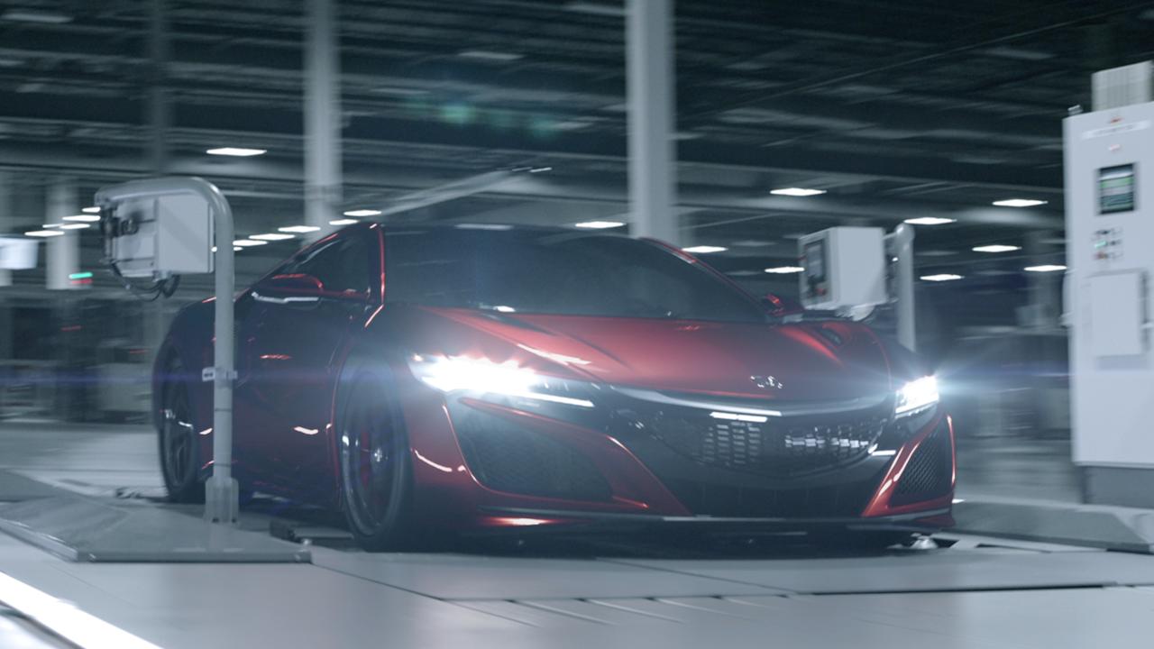 Honda NSX 'Original Must Be Done'