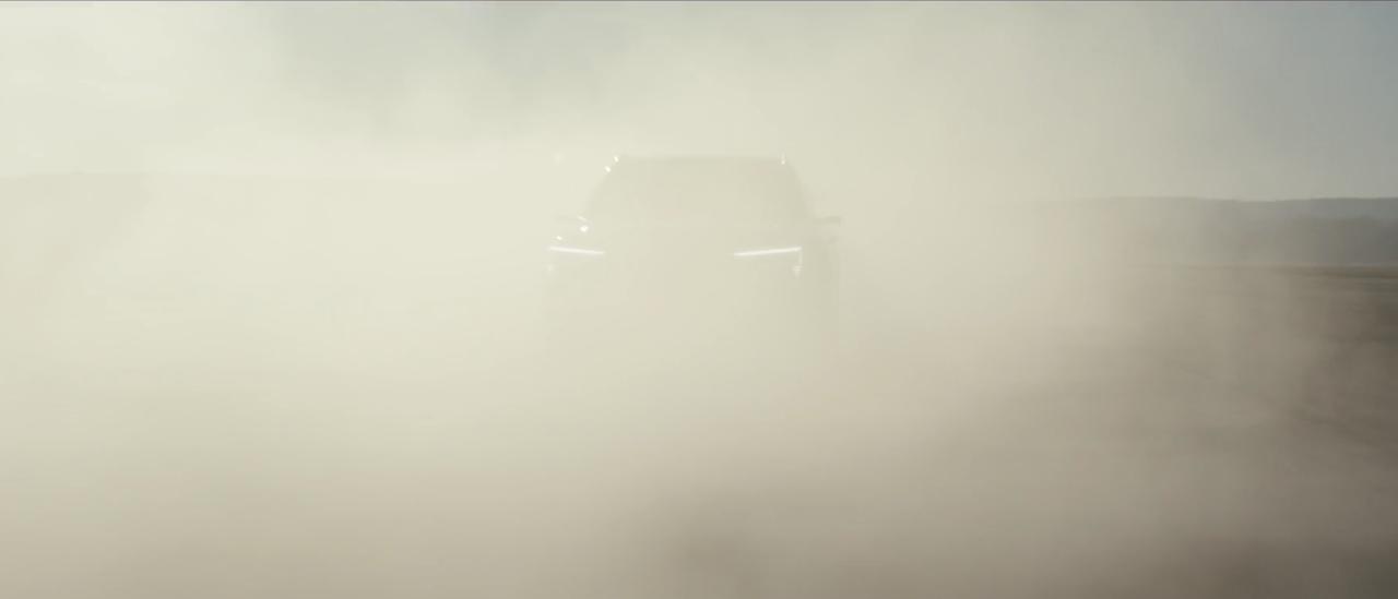 Audi E-Tron 'Teaser'