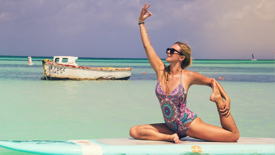 Jessica Kantor - Yoga Girl Omaze Campaign