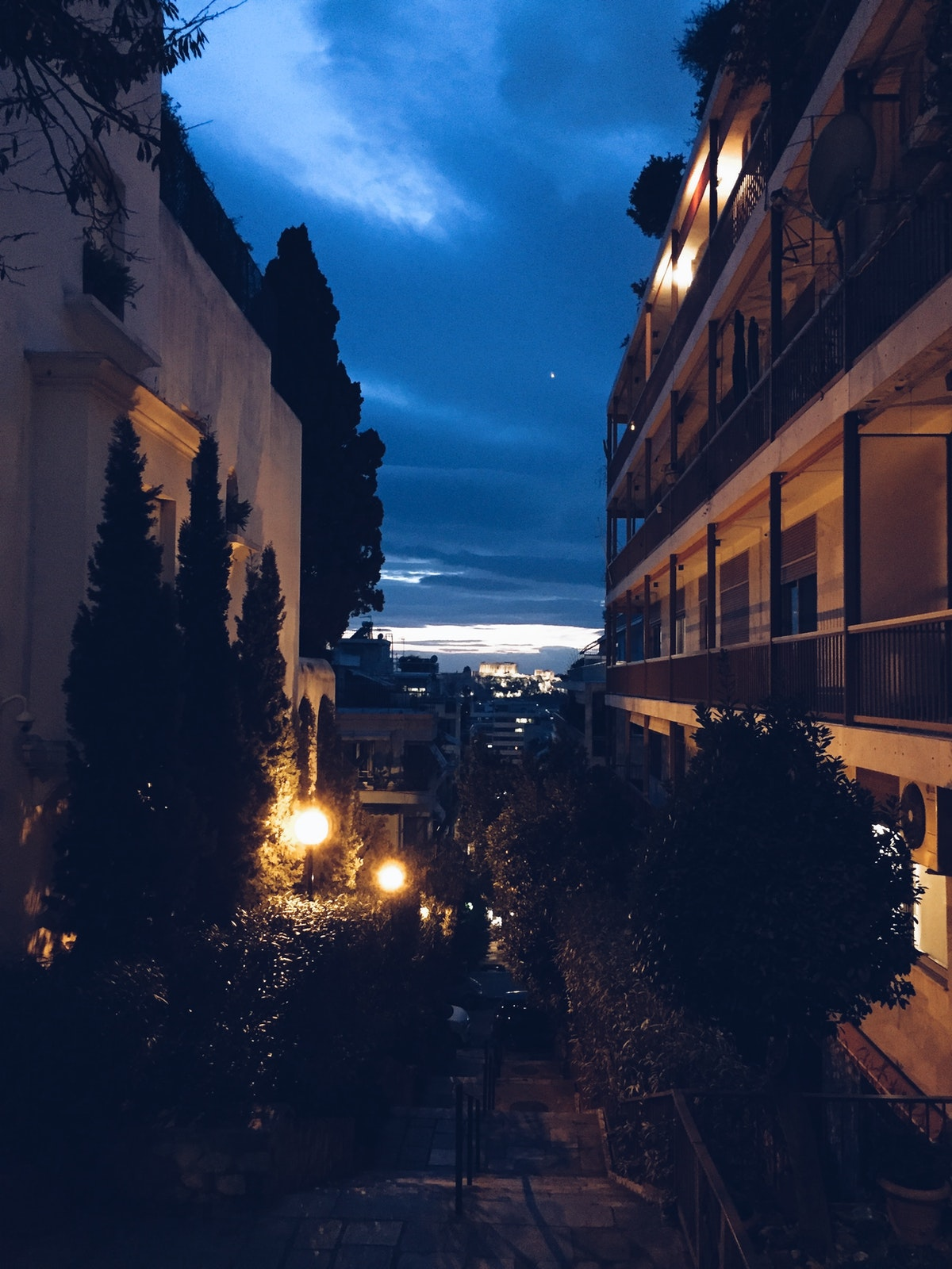 Athens , 6 days and nights in a hotel room.