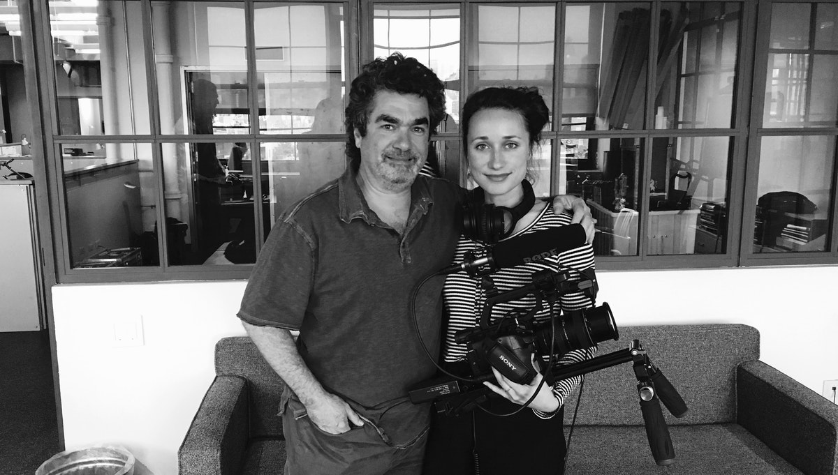 Shooting for Joe Berlinger