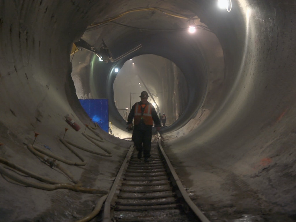 Inside the Tunnels