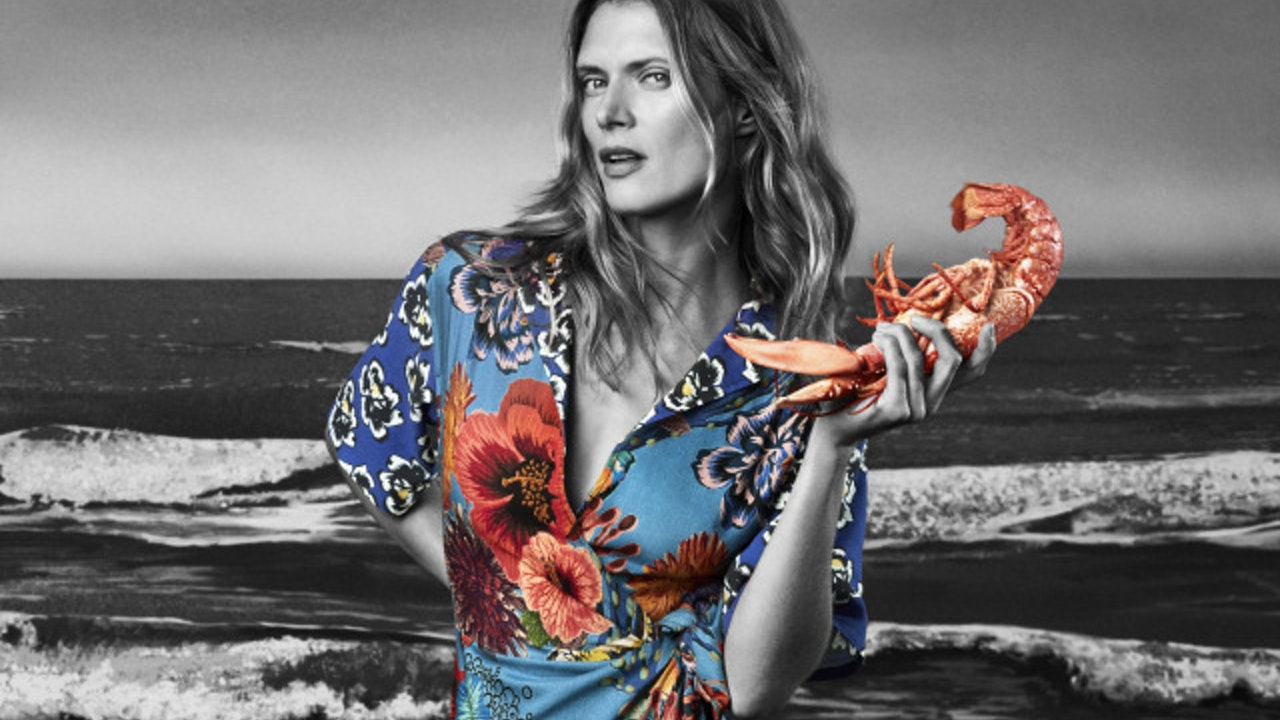 Paul Smith SS18 ft Malgosia Bela