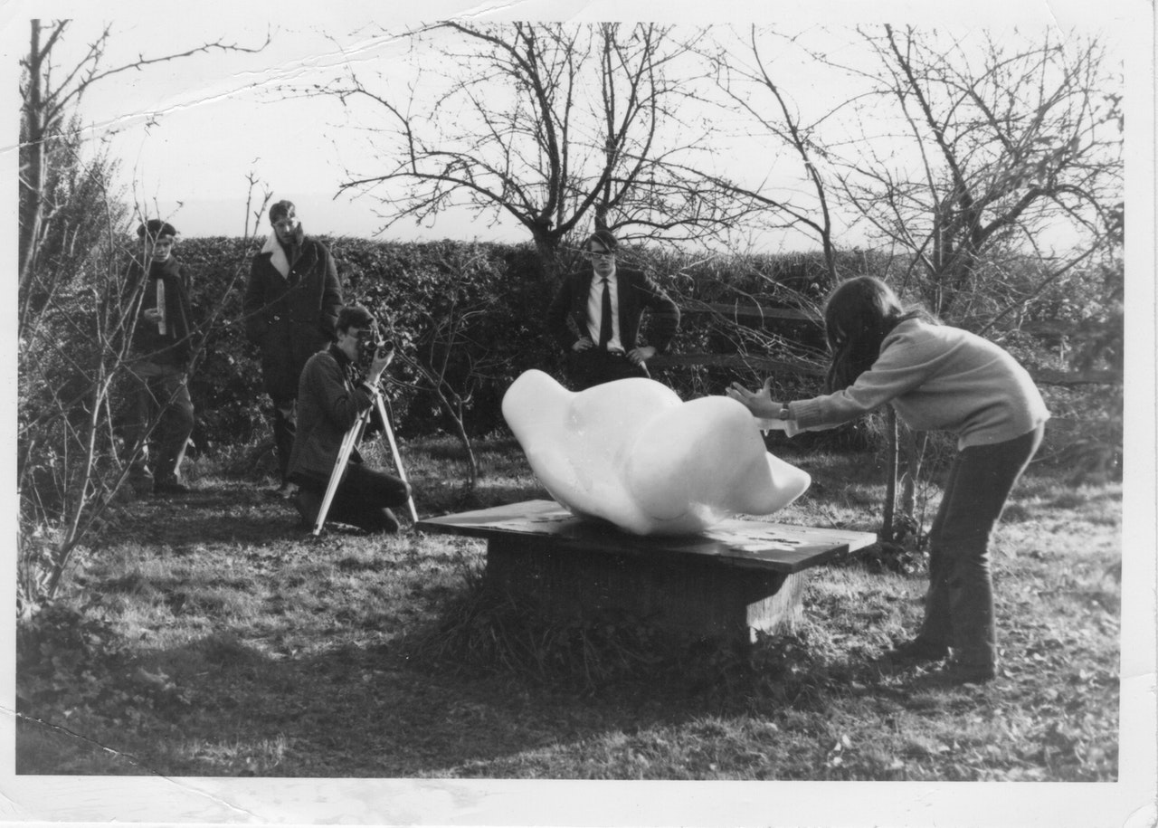 shooting john skelton film ditchling sussex 1966