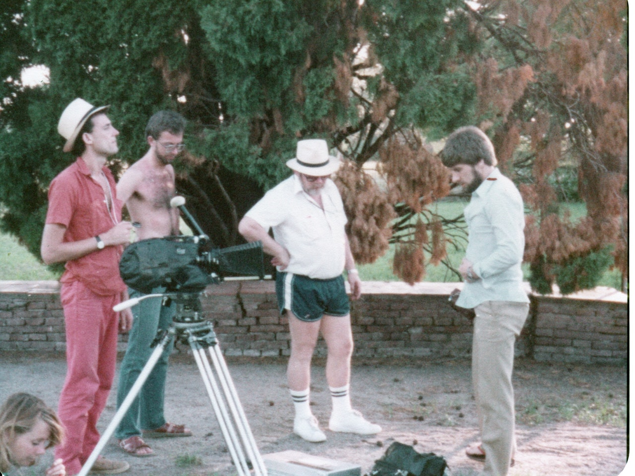 BORGES & I MIKE SOUTHON:JO SHEARER:RICKIE GAULD:JOHN HOOPER (SOUND)BBC FEB 1983 URUGUAY