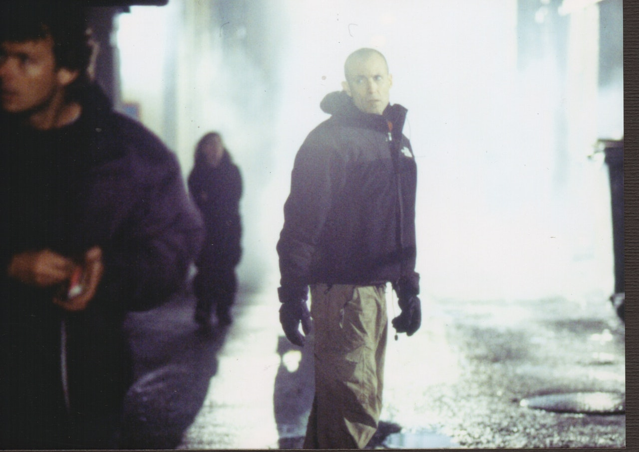 MIKE SOUTHON ON SET OF REPLICANT
