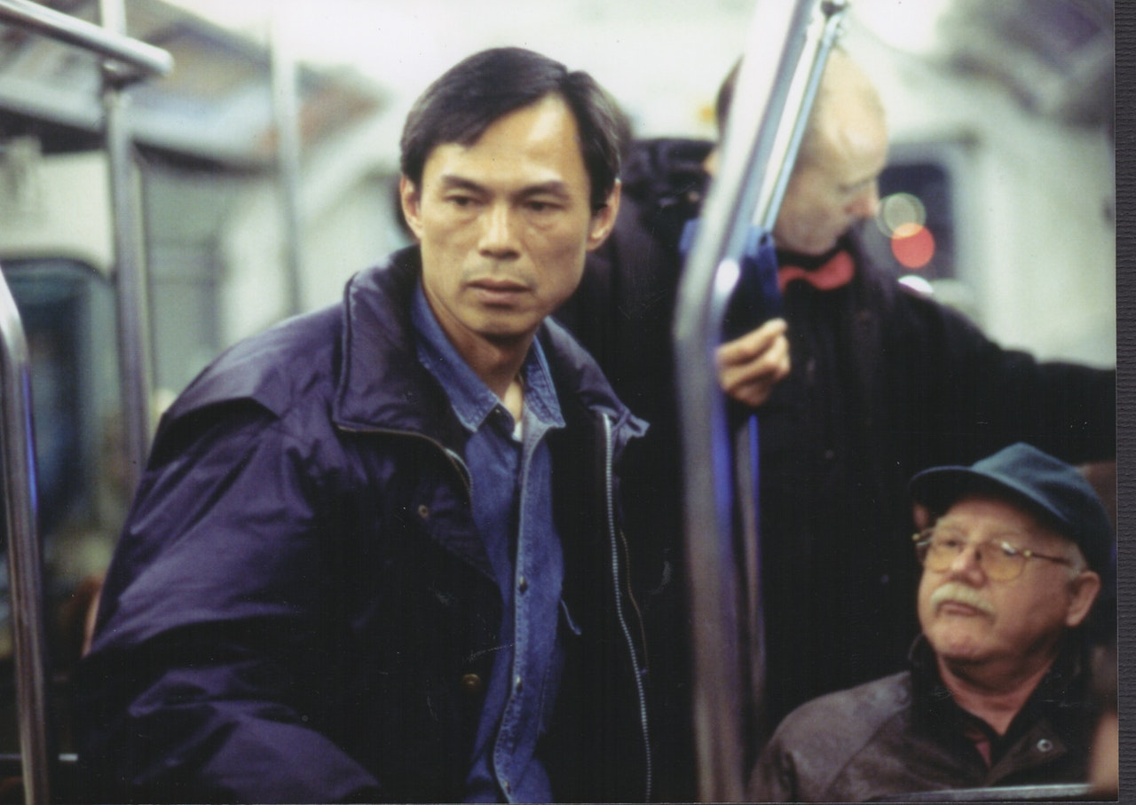 RINGO LAM:MIKE SOUTHON ON SET OF REPLICANT