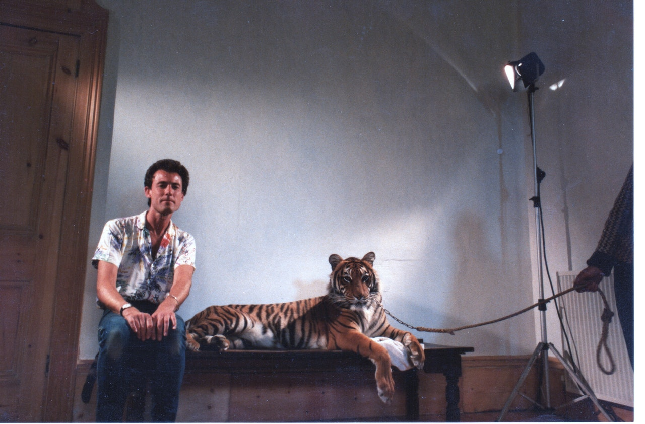 BORGES & I MIKE SOUTHON:TAME TIGER:BORGES: BBC FEB 1983 TOOTING 1