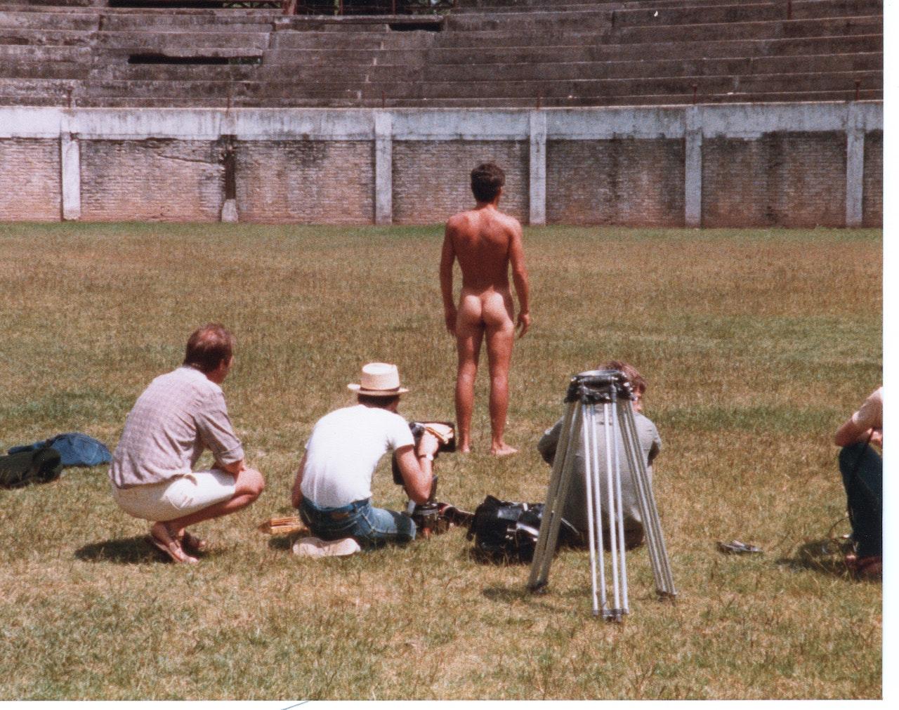 BORGES & I MIKE SOUTHON:RICKIE GAULD:DAVID WHEATLEY (SOUND)BBC FEB 1983 URUGUAY