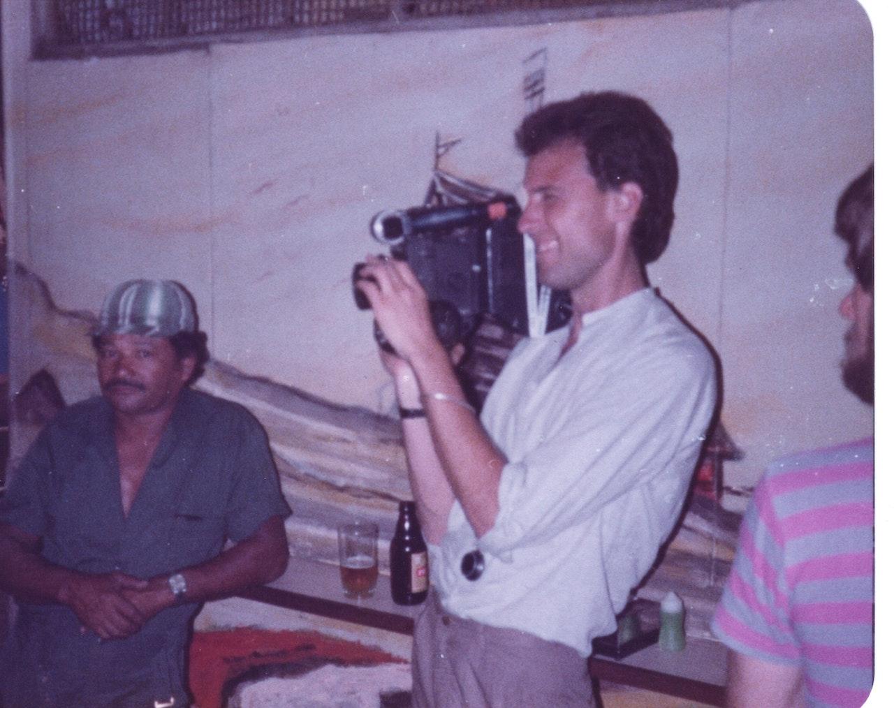 BORGES & I MIKE SOUTHON:JO SHEARER:DAVID WHEATLEY:BBC FEB 1983 URUGUAY 2