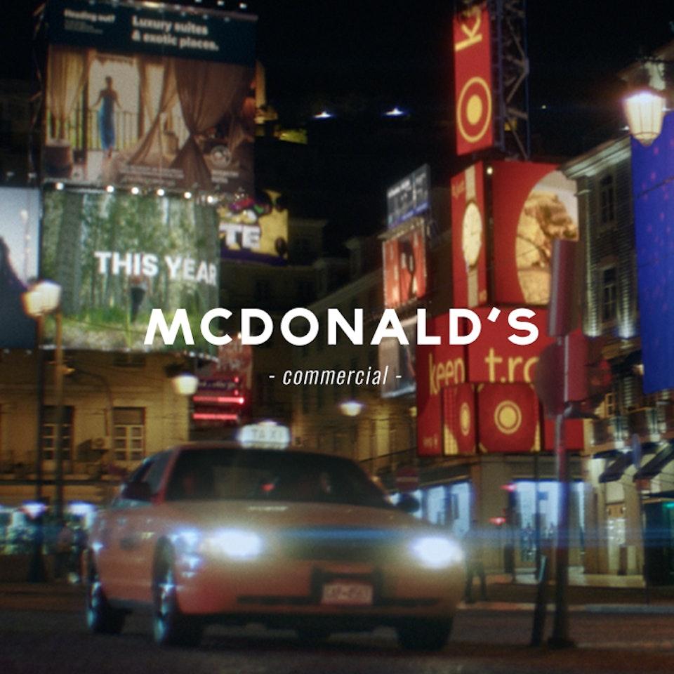 PETER PINT / DIRECTOR - McDonalds NY