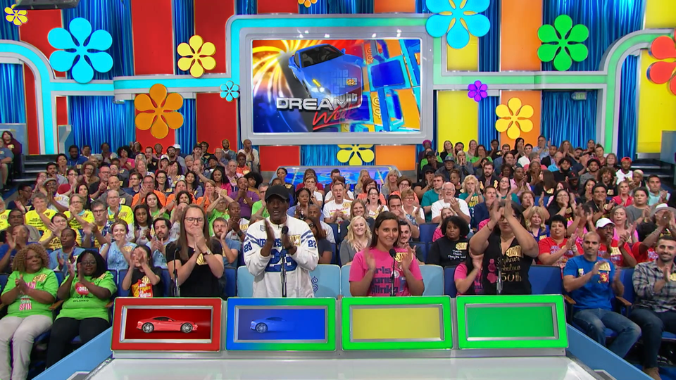 The Price Is Right - I created this template for pre-visualization purposes so that I can show my producers and our network executives my concepts for motion design and lighting design before we're on stage. The template—created in After Effects—allows me to change every lighting cue and fill each screen with direct compositions, to give an incredibly accurate depiction of one of our most iconic shots with a live audience.