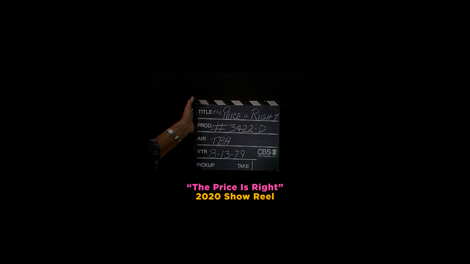 The Price Is Right - 2020 Show Reel