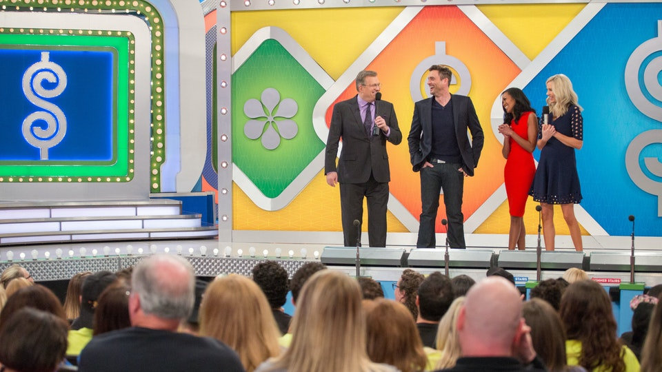 The Price Is Right - I created an all-new, contemporary look for our stage-wide privacy screen.
