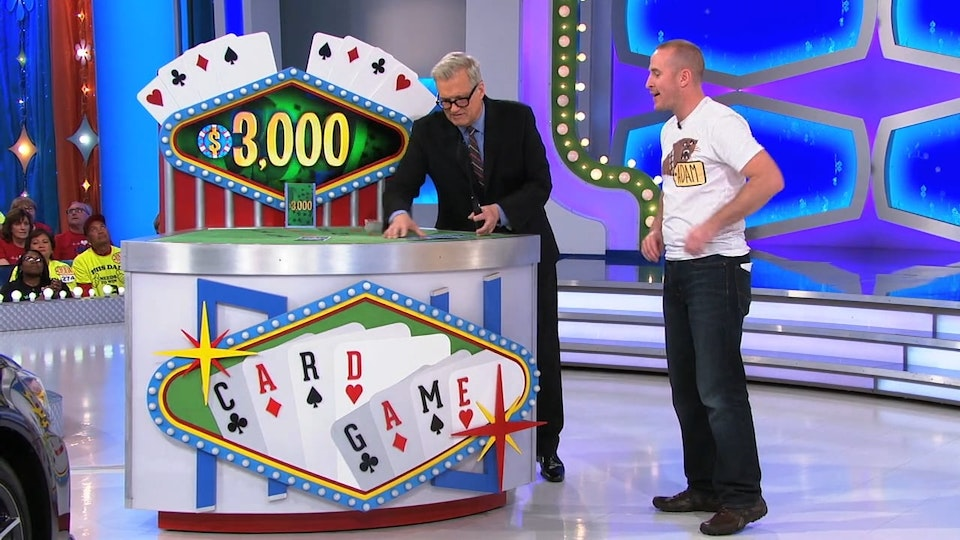 The Price Is Right - I designed the logo, the screen housing, the table felt, the cards. I also created all the screen animation both in the video wall and in the in-game display.