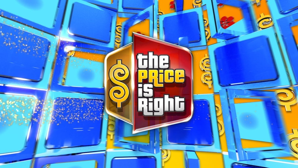 The Price Is Right - The standard looping animation that plays during non-special episodes in the back-of-house video wall. This graphic also serves as the key branding for the show.