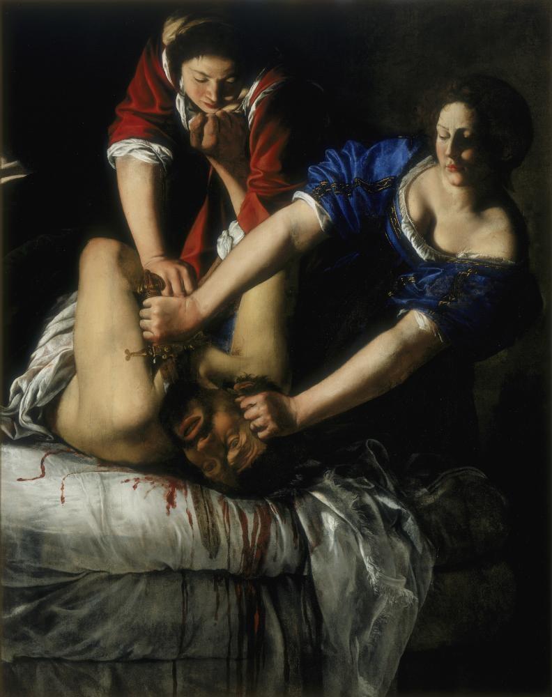Artemisia Gentileschi, Self Portrait as the Allegory of Painting