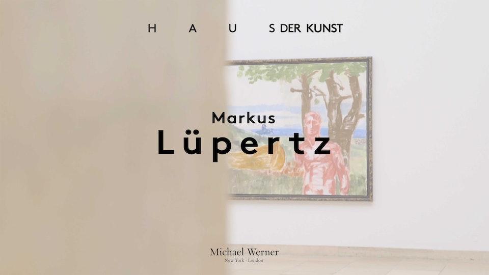 Haus der Kunst x Michael Werner Gallery: Markus Lüppertz