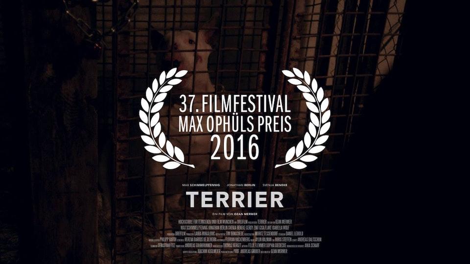 TERRIER auf dem 37. Festival Max Ophüls Preis!