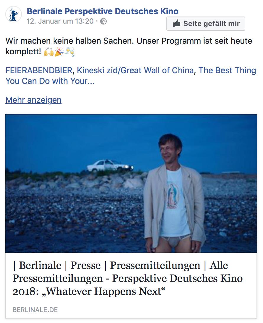 Impreza - Das Fest feiert Deutschlandpremiere auf der Berlinale!