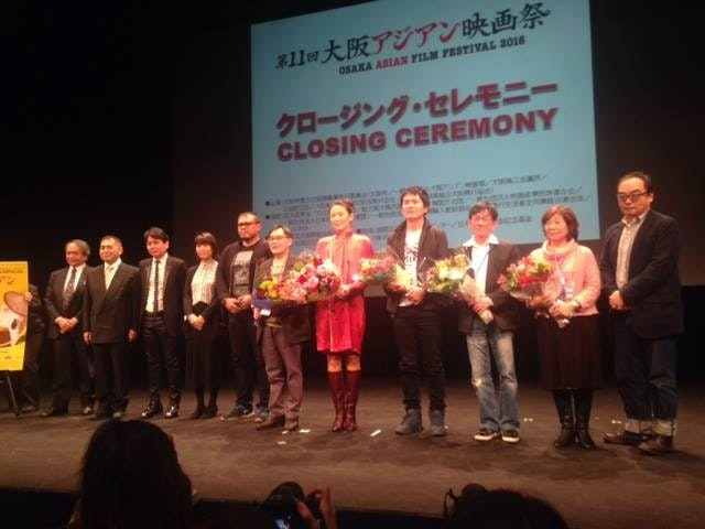 Uisenma gewinnt den Most Promising Talent Award beim  Osaka Film Festival!