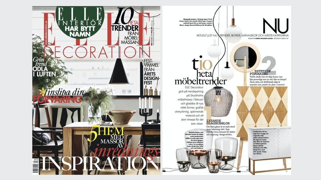 Elle Decoration Sweden 2/2014