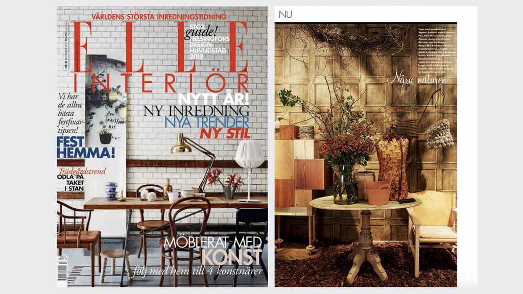 Elle Decoration Sweden 10/2011