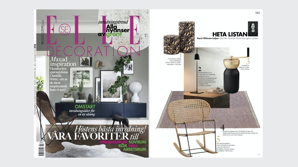 Elle Decoration Sweden 08/2017
