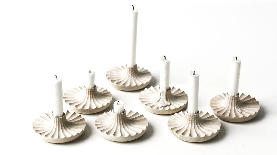 Daggkåpa Candleholder