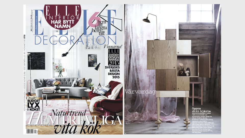 Elle Decoration Sweden 02/2015