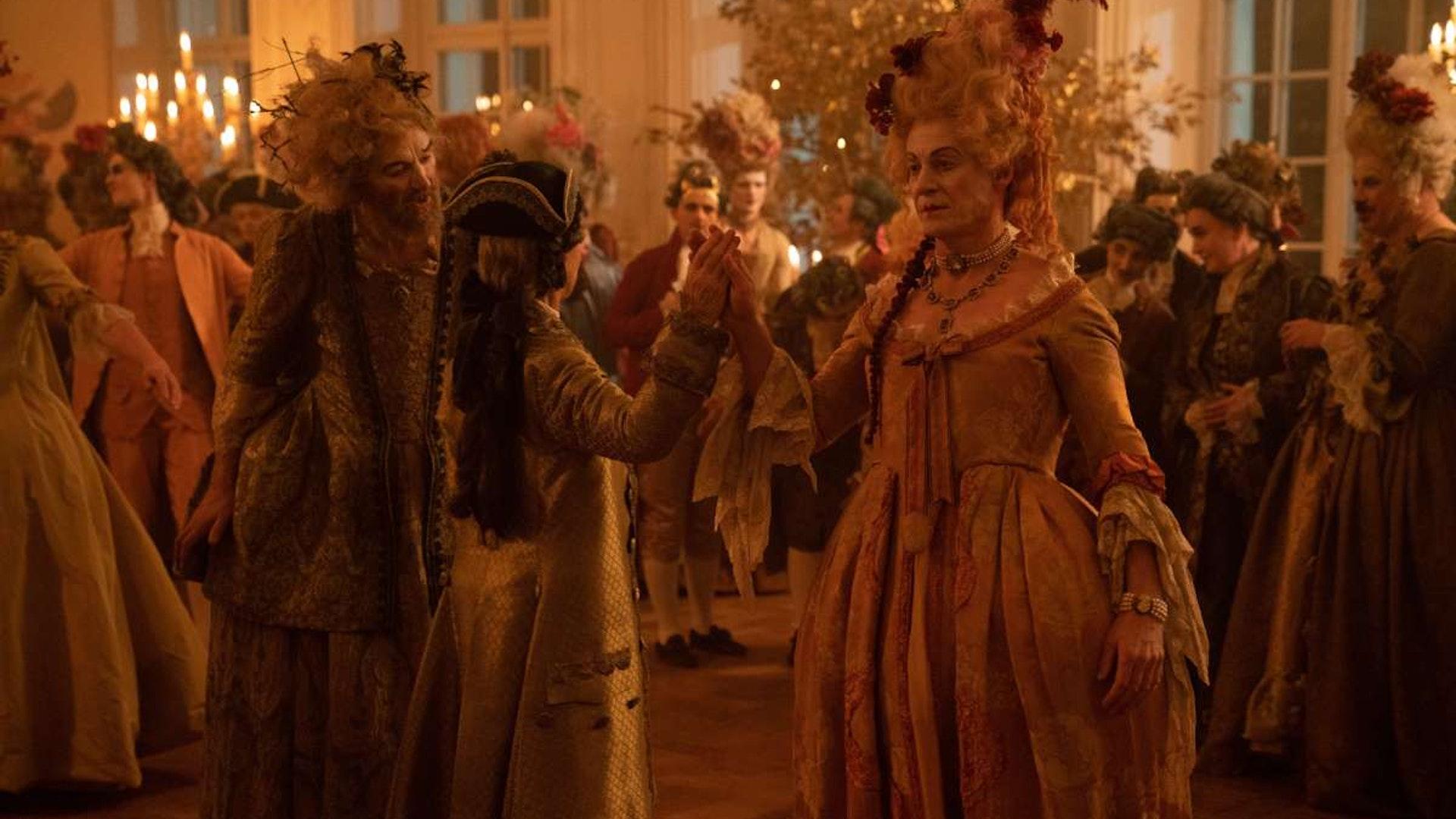 hbo-catherine-the-great-ball-helen-mirren-suit-orlov-richard-roxburgh-dress
